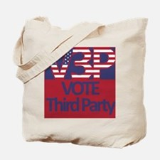 V3P - Vote Third Party Tote Bag