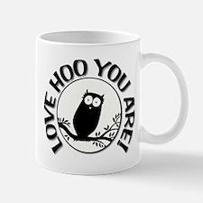 Owl - Love Hoo You Are Mug