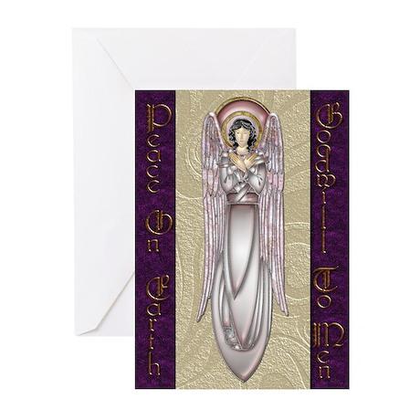 Harvest Moon's Art Deco Angels Card (Pk of 20)