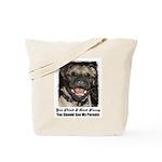 LAUGHING PUG  Tote Bag