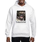 LAUGHING PUG Hooded Sweatshirt