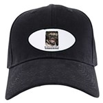 LAUGHING PUG Black Cap