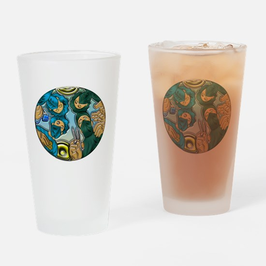 Healthcare Professionals Drinking Glass