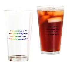 Cute Winner Drinking Glass