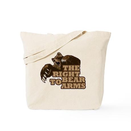 Bear Arms Tote Bag
