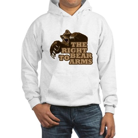 Bear Arms Hooded Sweatshirt