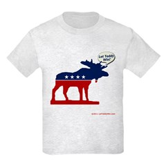 Bull Moose Party Kids T-Shirt