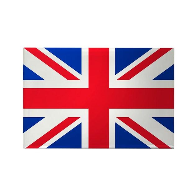 Union jack flag rectangle magnet by dooleydigital for Ohrensessel union jack