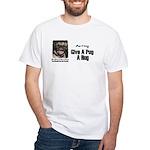 HUG A PUG White T-Shirt
