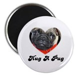 HUG A PUG Magnet
