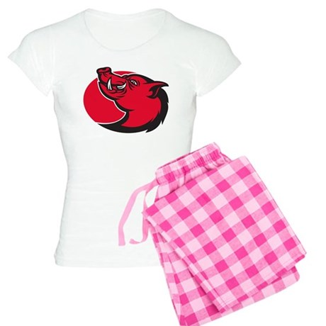 wild pig razorback Women's Light Pajamas