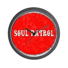SOUL PATROL Wall Clock