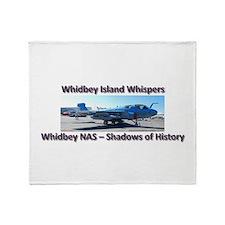 Northrup Grumman EA-6B Prowle Throw Blanket