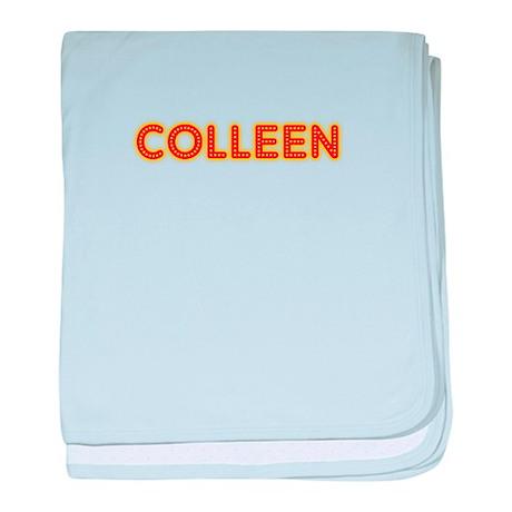 Colleen in Movie Lights baby blanket
