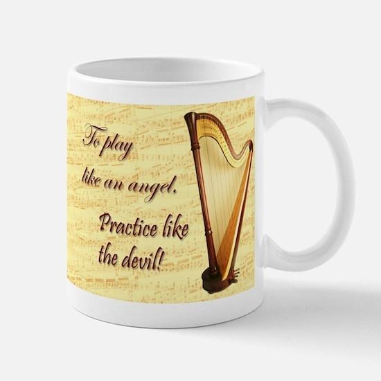 Pedal Harp Mug