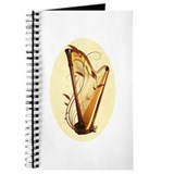 Harpists Journals & Spiral Notebooks