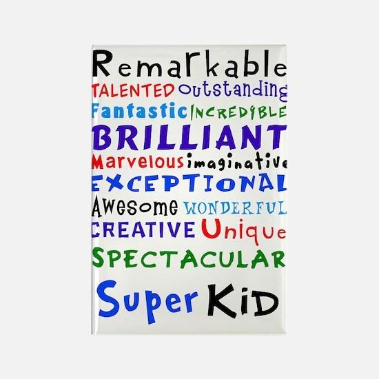 Super Kid Rectangle Magnet
