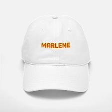 Marlene in Movie Lights Baseball Baseball Cap
