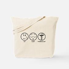 Eat Sleep Pharmacology Tote Bag
