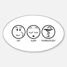 Eat Sleep Pharmacology Decal