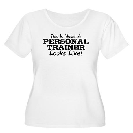 Personal Trainer Women's Plus Size Scoop Neck T-Sh
