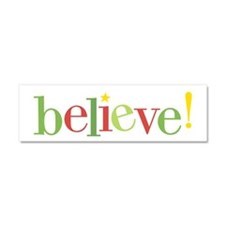 believe! Car Magnet 10 x 3