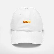 Nina in Movie Lights Baseball Baseball Cap