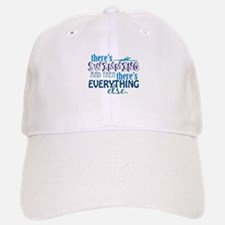 Swimming is Everything Baseball Baseball Cap