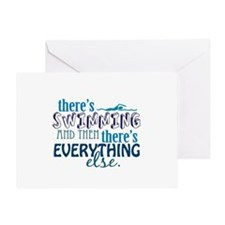 Swimming is Everything Greeting Card