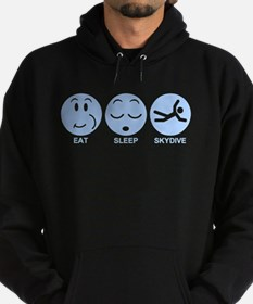 Eat Sleep Skydive Hoodie (dark)