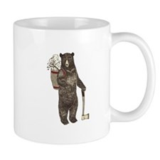 Cute Black brown bears Mug