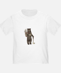 Cool Brown bear T