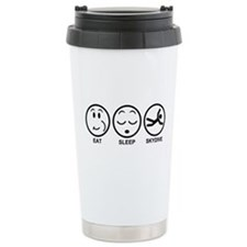 Eat Sleep Skydive Travel Mug