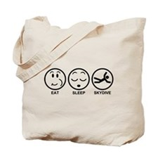 Eat Sleep Skydive Tote Bag