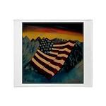 Patriot Mountain Throw Blanket