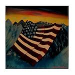 Patriot Mountain Tile Coaster