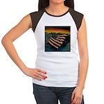 Patriot Mountain Women's Cap Sleeve T-Shirt