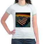 Patriot Mountain Jr. Ringer T-Shirt