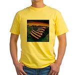 Patriot Mountain Yellow T-Shirt