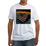 Patriot Mountain Fitted T-Shirt