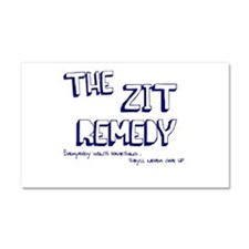 The Zit Remedy Car Magnet 20 x 12