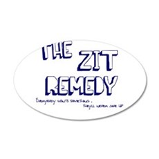 The Zit Remedy 22x14 Oval Wall Peel