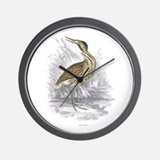 Bittern Bird Wall Clock