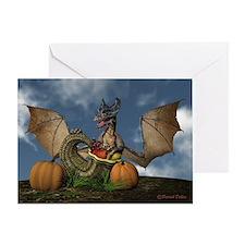 Dragon Thanksgiving Greeting Card