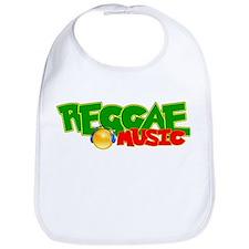 Reggae Music Bib