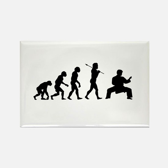 Karate Evolution Rectangle Magnet