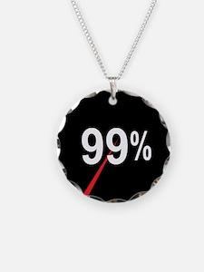 99 Percent Pie Chart: Necklace