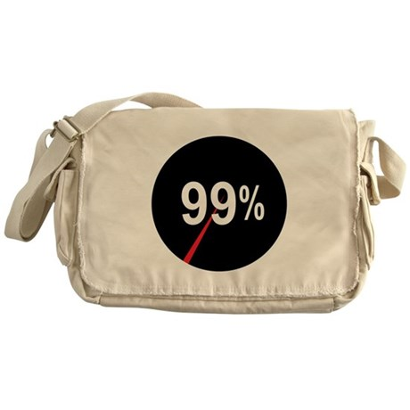 99 Percent Pie Chart: Messenger Bag