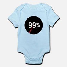 99 Percent Pie Chart: Infant Bodysuit