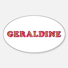 Geraldine Decal
